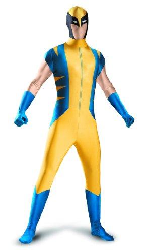 Wolverine Bodysuit Für Erwachsene Kostüm - Disguise Wolverine Superhero Bodysuit Costume Mens
