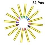 Toyandona Gesichtsmalstifte, 16 Farben, für Make-up, Party, 32 Stück