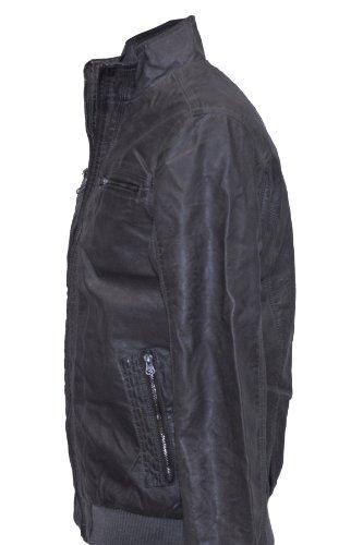 INDICODE Fashion Vintage Blouson in 2 Farben! Grau