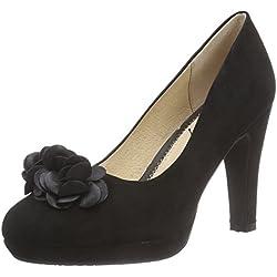Stockerpoint Schuh 6080, Damen Pumps, Schwarz (schwarz), 39 EU