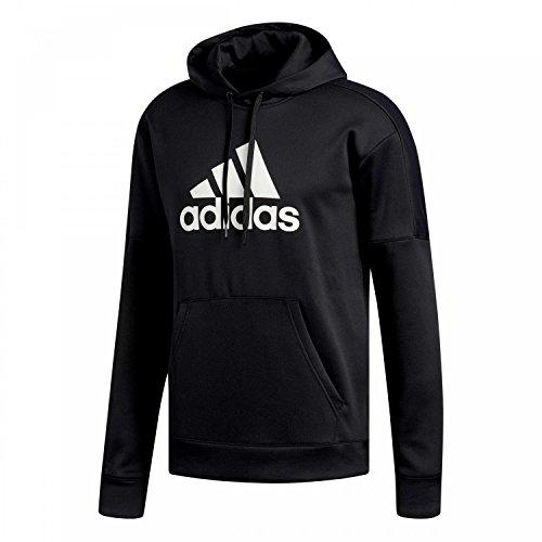 adidas Herren Team Issue Fleece Poh Logo Kapuzen-Sweatshirt, Black, M Preisvergleich