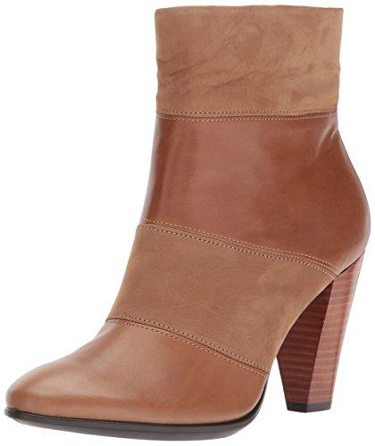 ECCO Damen Shape 75 Stiefel, Braun Camel, 37 EU - Fabelhafte Leder-stiefelette