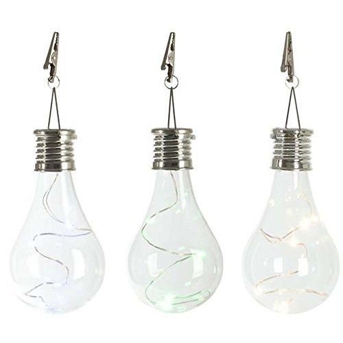 LED Light Lamp Bulb, KEERADS Waterproof Solar Rotatable Outdoor Garden Camping HangingLED Light Lamp Bulb