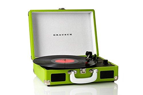 Grausch-RPS101-giradischi-vinili-valigia-portatile-vintage-con-2-altoparlanti-integrati