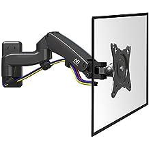 """NB F150 - sólido, rotativo de pared con resorte de gas para los monitores TV LCD 43cm-69 cm / 17""""-27"""" y hasta 7 kg"""