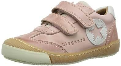 Bisgaard Schuh mit Klettverschluss 40306114 Unisex-Kinder Sneaker, Pink (15 Pale), EU 35