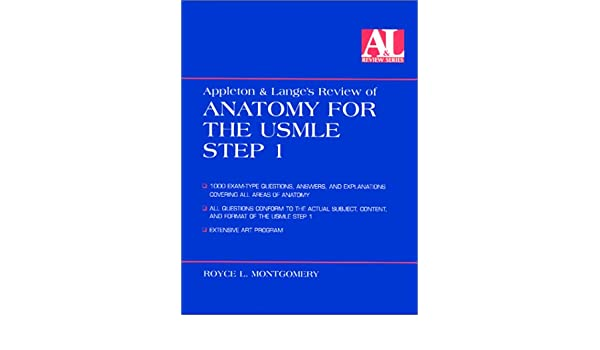 Buy Appleton Langes Review Of Anatomy For The Usmle Step 1 Book