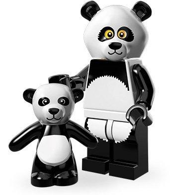 LEGO Minifiguren Movie Edition (Serie 12): Panda-Mann - Serie 12
