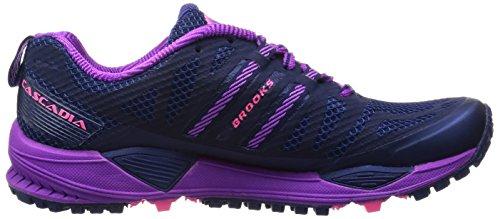 Brooks Cascadia 10, Scarpe sportive,Donna Azul / Morado
