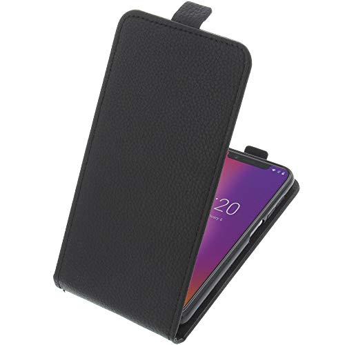 foto-kontor Tasche für UMIDIGI One/One PRO Smartphone Flipstyle Schutz Hülle schwarz