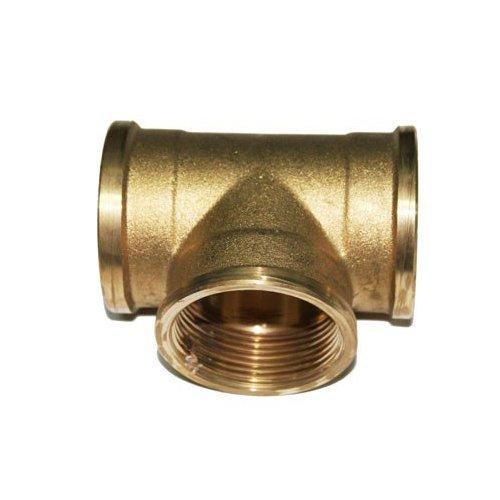 'RC junter 87132 – Te femelle laiton 1, 4.2 x 4.2 x 2.7 cm, couleur doré