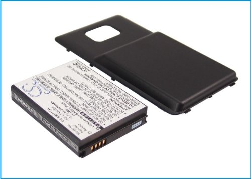 s- Akku für Samsung Attain, SGH-I777, Galaxy S II 4G, AT&T Galaxy S2,Galaxy S II (With Back Cover) ()