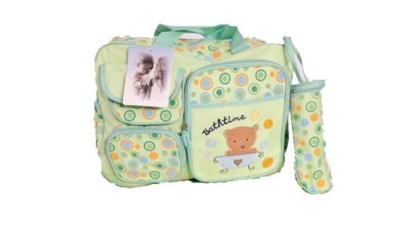 GMMH 3 tlg Baby Farbe beige Wickeltasche Pflegetasche Windeltasche Babytasche Reise Farbauswahl