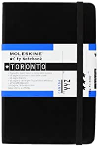 Moleskine City Notebook Tornto, Pocket, Hardcover, schwarz