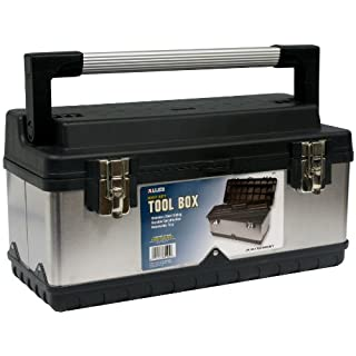 Allied Tools 69102 Tool MiscellaneousTool Box with Stainless Steel Sliding