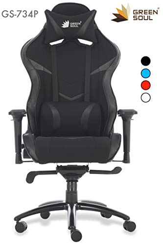 Green Soul Monster Pro GS-734P Gaming and Ergonomic Fabric and...