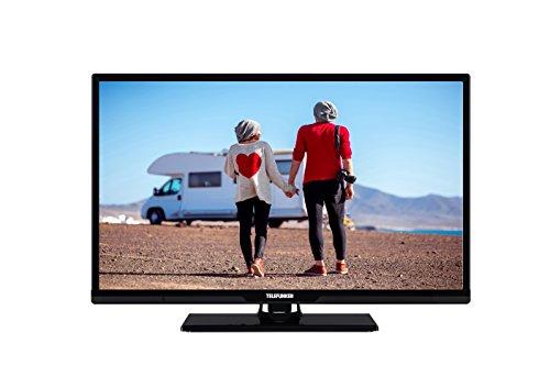 fernseher mit integriertem dvd Telefunken XH24D401VD 60 cm (24 Zoll) Fernseher (HD ready, Triple Tuner, Smart TV, DVD-Player)