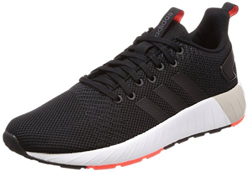 new product a0c8f b468d adidas Herren Questar BYD Sneaker Schwarz (Core BlackSolar Red) 46 2
