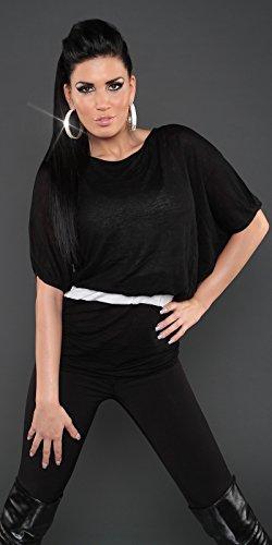 Sexy KouCla Fledermaus Pullover Koucla by In-Stylefashion SKU 0000PU1611101 Schwarz