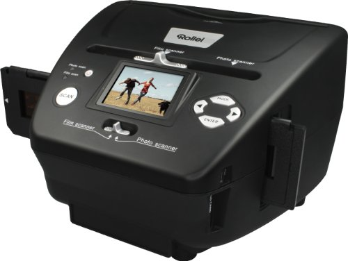 Rollei PDF-S 240 SE - Multiscanner für Fotos, Dias und Negative, sekundenschneller Scanvorgang, inkl. Bildbearbeitungssoftware - Schwarz - 2