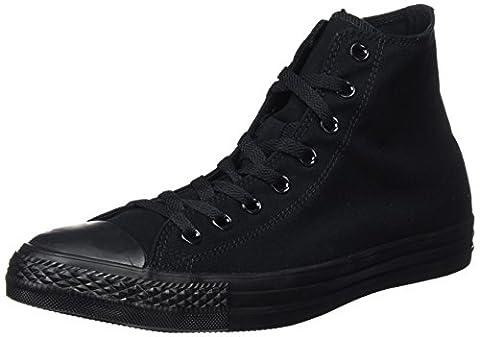 Converse Converse Sneakers Chuck Taylor All Star M3310, Unisex-Erwachsene Hohe Sneakers, Schwarz (Black Mono), 40 EU (7 Erwachsene
