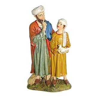 Bertoni – Figura Decorativa, diseño de Hombre con niño