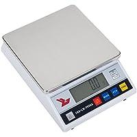 Steinberg Systems Balanza de precisión Báscula digital SBS-LW-7500A (7500 g, Precisión 0,01 g, 4 Funciones, cambio de unidad, 18 x 18cm, Pantalla LCD) Blanca
