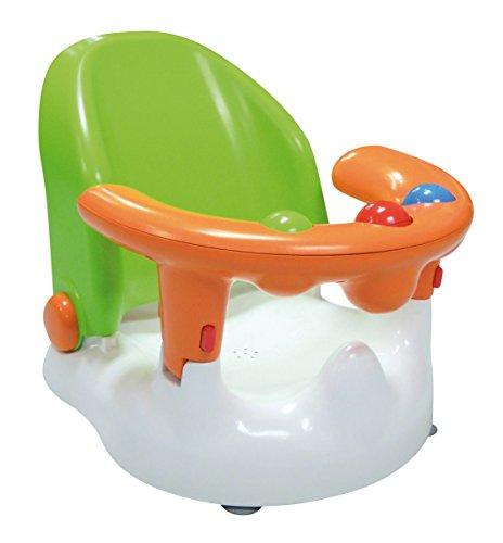 Verstellbarer Sitz In Der Dusche (SARO - Baby-Badewannensitz mit verstellbarer Rückenlehne und mehreren Sitzpositionen Mit starken Saugnäpfen, ergonomisch geformter Rückenlehne und Öffnung an der Vorderseite. (grün))