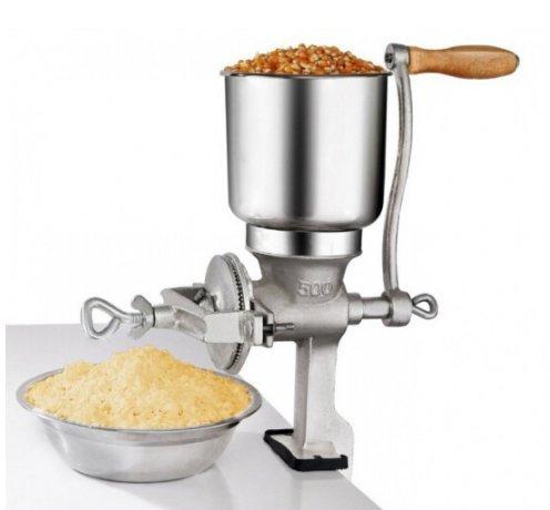 Domestica a mano manuale smerigliatrice fresatrice grano noce macchina di riempimento di arachidi crusher