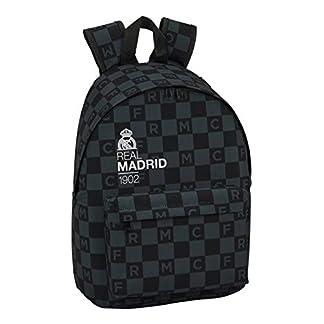 41T7Qkl99rL. SS324  - Real Madrid 641849819 2018 Mochila Infantil 41 cm, Negro