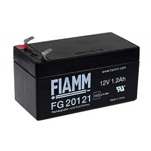 FIAMM Batterie au plomb rechargeable FG20121 Vds, 12V, Lead-Acid [ Batterie au plomb ]