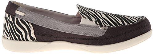 Crocs Walu selvaggio Graphic Loafer Black/Stucco