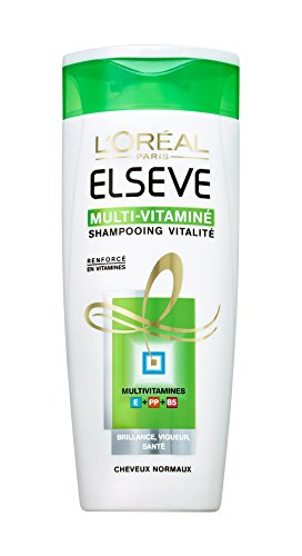L'Oréal Paris Elsève Multi-Vitamines Shampooing Cheveux Normaux 250 ml