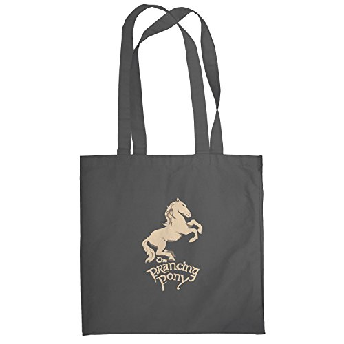 Texlab–The puledro Pony–sacchetto di stoffa Grau