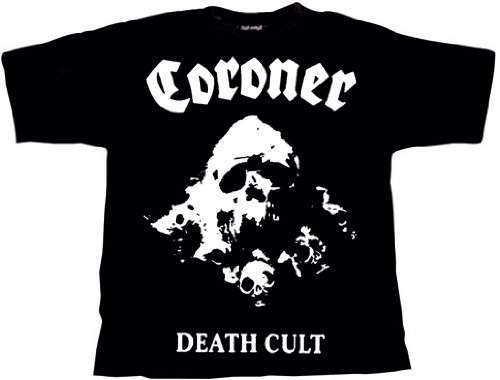 Coroner Death Cult T-Shirt, XL / Extra-Large (o140) (T-shirt Large Xl Extra)