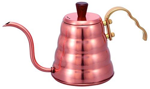 Hario Wasserkocher aus Edelstahl, kupfer, S
