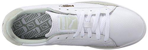 Puma Partita Lo Base Sport Sportstyle Sneaker White/Green Lily