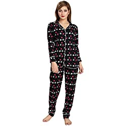AV2 Women Cotton Printed Top & Pyjama Set