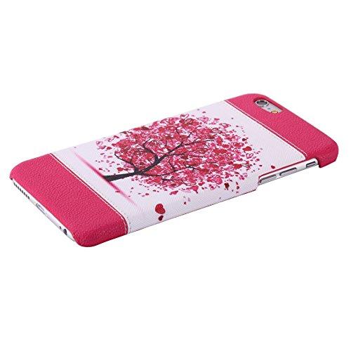 iPhone 6 Plus Coque,iPhone 6s Plus Case,iPhone 6 Plus Cover - Felfy Super Slim Mince PC Plastic Case Motif de Couleur Design Coque Housse de Protection Etui Anti Scratch Antichoc Case Cover Case Bumpe Arbres Colorés