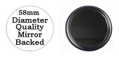 Facebook Slave bedruckt Bespoke entworfen 58mm Rund KOMPAKT Spiegel. Neuheit Make Up Spiegel ideal für Ihre Handtasche. Geschenke Kaboom - 2