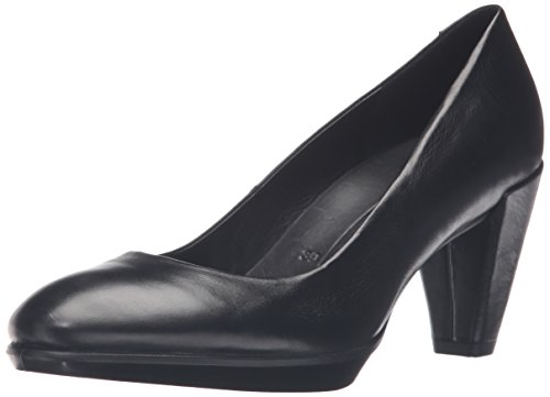 Ecco Damen Shape 55 Platea Pumps, Schwarz (1001black), 37 EU