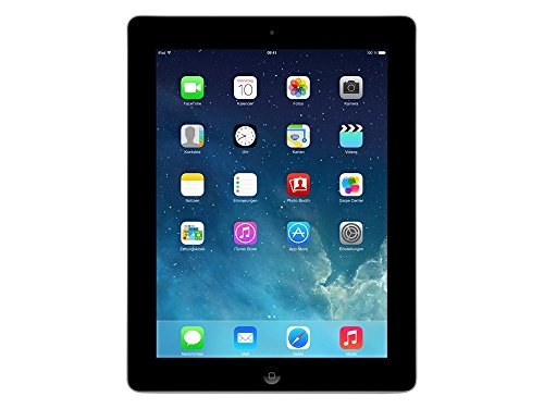 Apple iPad 4 Tablet (Black) - 32GB Storage, WIFI + 3G (Certified Refurbished)