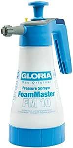 GLORIA Drucksprüher FoamMaster FM 10 Schaumsprüher Schaum-/Drucksprühgerät, Ausbringen von Reinigungsschaum, 1L