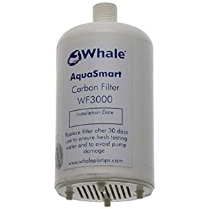 41T7Wau9ZkL. SS300  - Whale WF3000 Aqua Smart Aqua Smart Carbon Water Filter, White