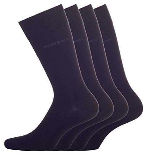BOSS Hugo Boss Herren Socken Twopack RS Uni 10112280 01, 4er Pack