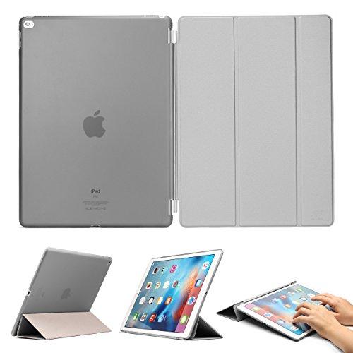 iPad Pro 12,9 Zoll ( 2015 Version) Original Urcover® Smart Cover für das Case iPad Pro 12,9 Zoll Schutz Hülle Case Etui mit Sleep / Wake Funtion und inkl Displayschutzfolie [Deutscher Fachhandel] Grau -