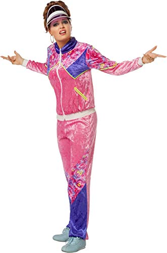 Wilbers Kostüm Jogging Anzug 80er Jahre Dame XL 46 Damenkostüme - Sportler Kostüm Frauen