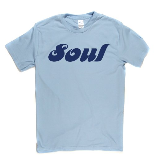 Soul Music Genre Tee Fancy Dress Funky Tee T-shirt Himmelblau