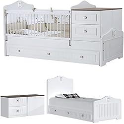 Baby Cama Cuna Golf/el fin de mitwachs Baby Cama Infantil/7años de garantía/claras líneas diseño clásico