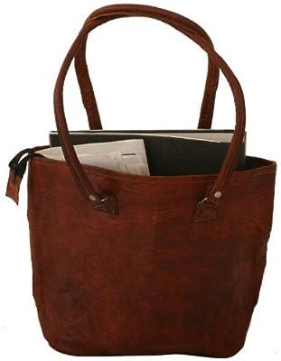 Gusti Leder H14 - Bolso bandolera (piel), color marrón
